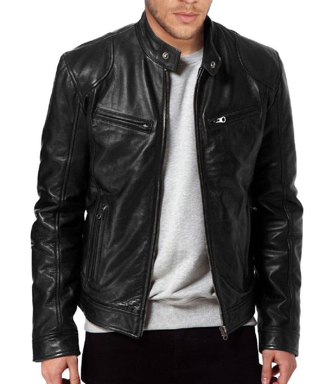 Real Leather Jacket - Jacket